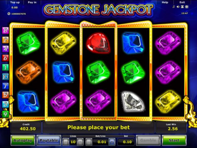 Gemstone Jackpot Mobile Slot Game