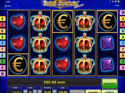 Just Jewels Mobile Slot Game