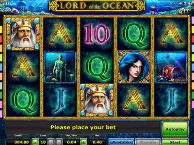 Lord of the Ocean Mobile Slot Game