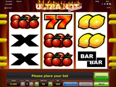 Ultra Hot Deluxe Mobile Slot Game
